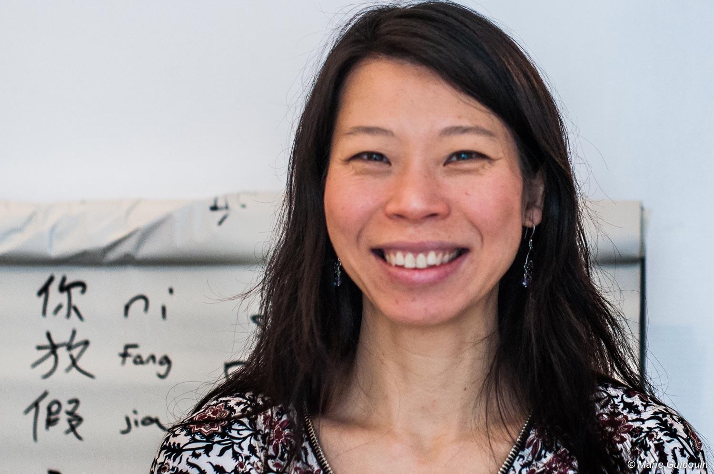 Ching Yuan, artiste calligraphe, révélatrice de la Nature