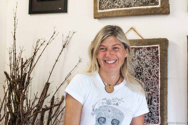 Loret Dardenne partage ses racines à travers l'Art …