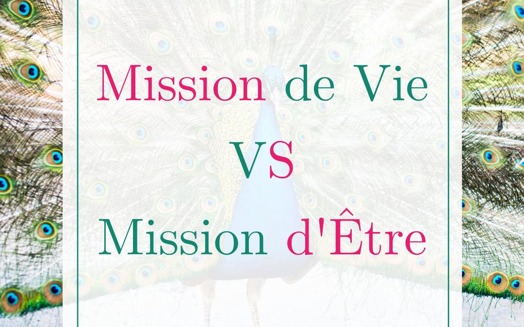 Mission de Vie VS Mission d'Être